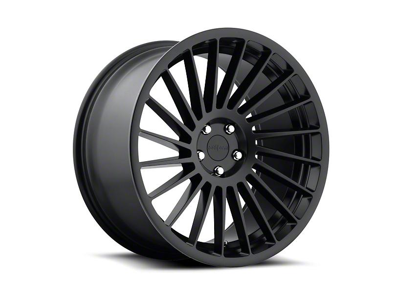 Rotiform Black Machined IND-T Wheel - Passenger Side - 19x8.5 (15-17 All)