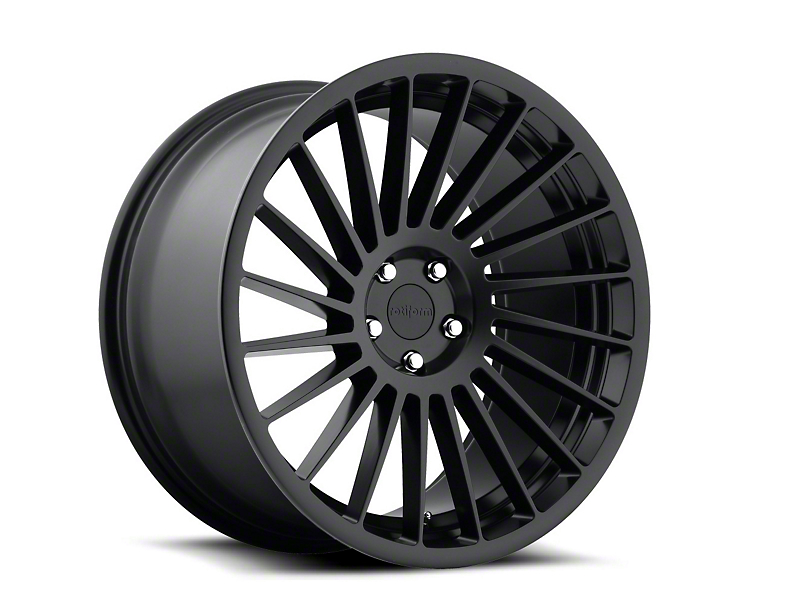 Rotiform IND-T Black Machined Wheel - Driver Side - 19x8.5 (05-14 All)