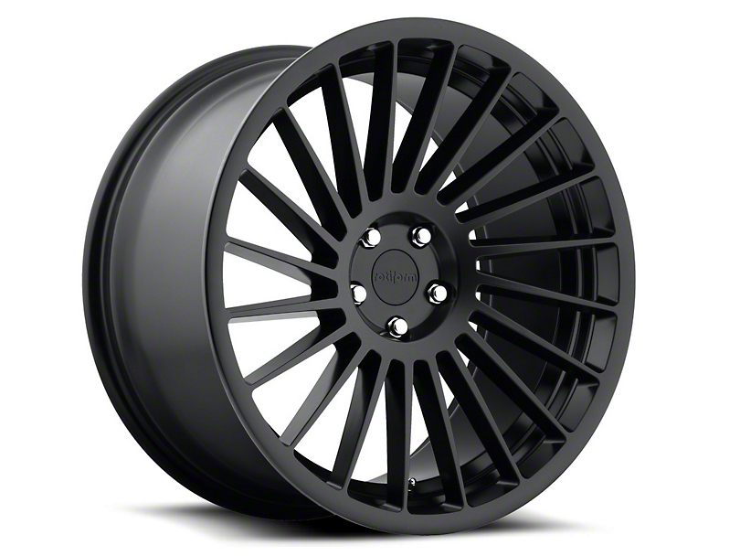 Rotiform Black Machined IND-T Wheel - Passenger Side - 20x10.5 (05-14 All)