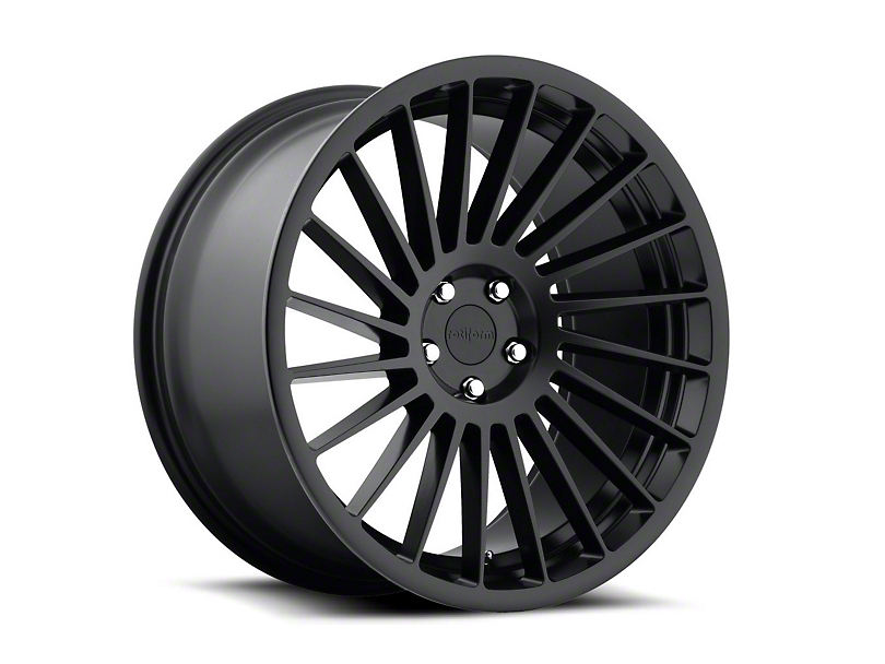Rotiform IND-T Black Machined Wheel - Driver Side - 20x10.5 (05-14 All)