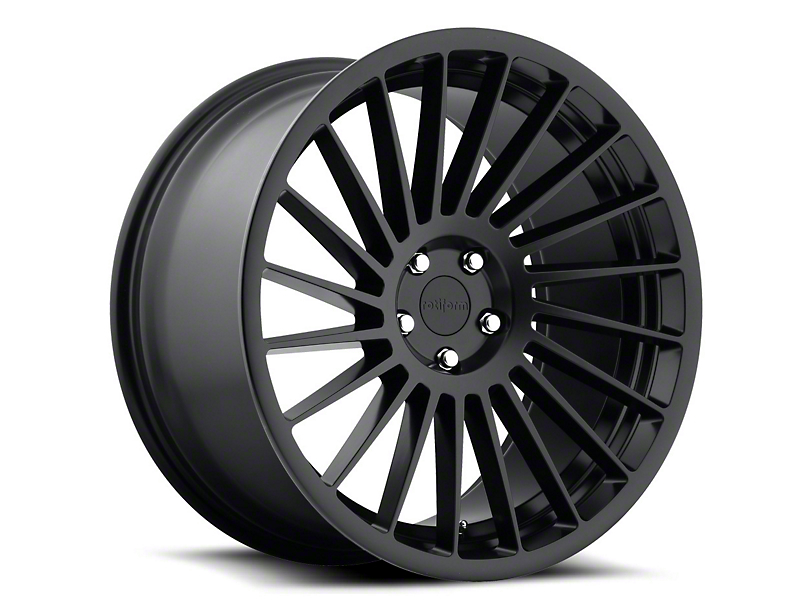 Rotiform IND-T Black Machined Wheel - Passenger Side - 20x10.5 (05-14 All)