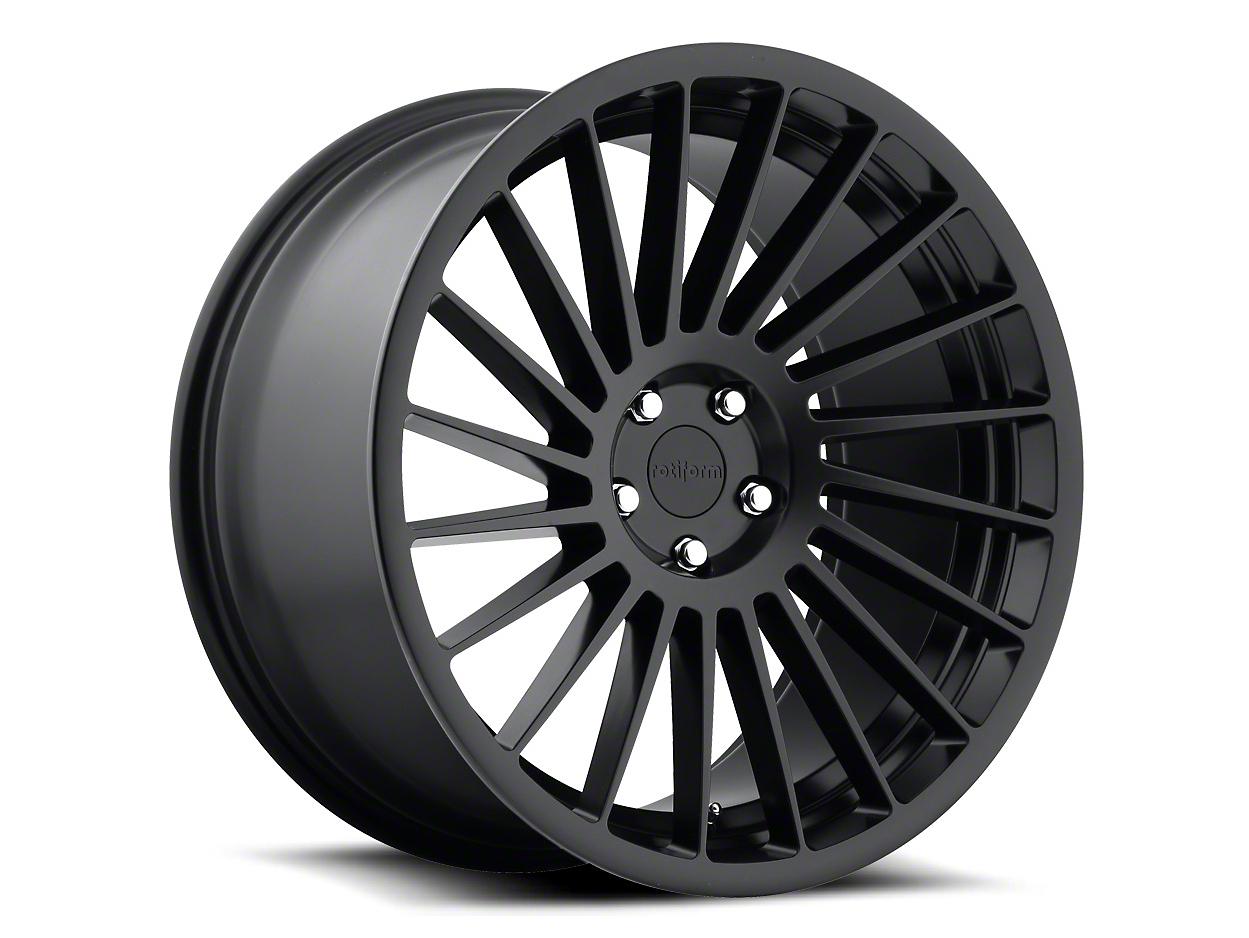 Rotiform IND-T Black Machined Wheel - Passenger Side - 20x10.5 (05-14 All)