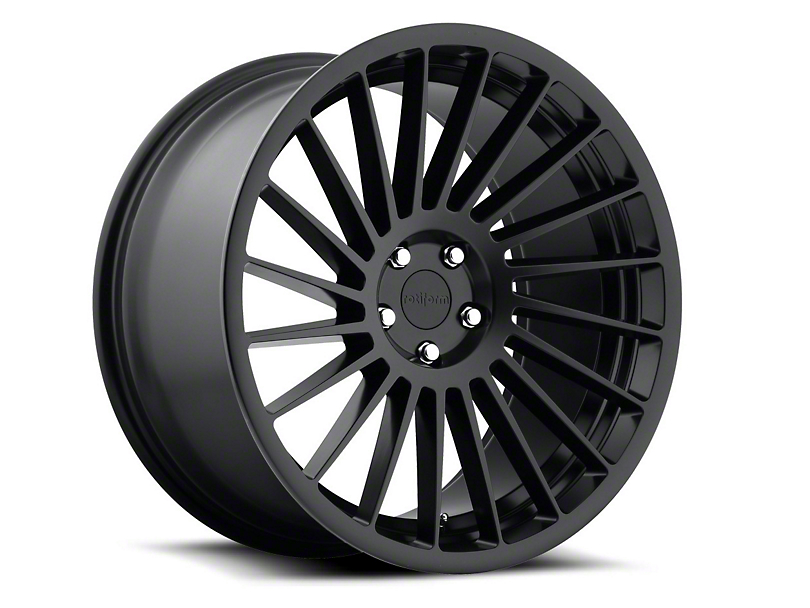 Rotiform IND-T Black Machined Wheel - Passenger Side - 20x9 (15-18 GT, EcoBoost, V6)