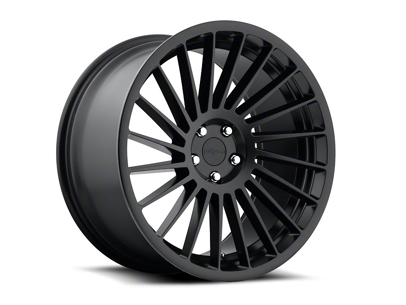 Rotiform Matte Black IND-T Wheel - Driver Side - 19x10 (15-17 All)