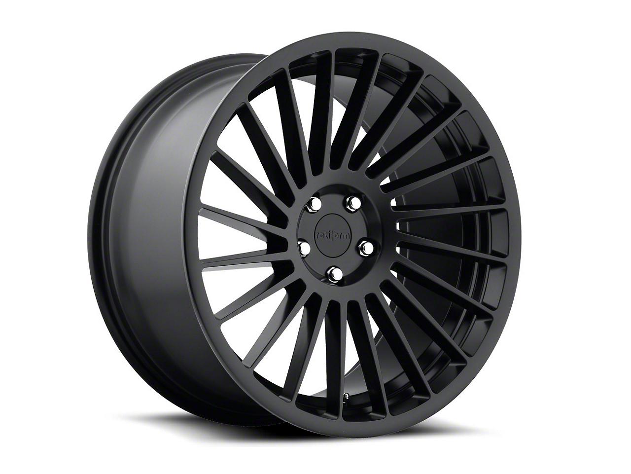 Rotiform Matte Black IND-T Wheel - Driver Side - 19x10 (15-17 All)