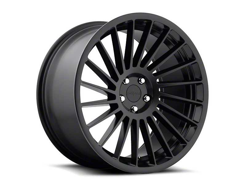 Rotiform Matte Black IND-T Wheel - Driver Side - 19x8.5 (15-17 All)