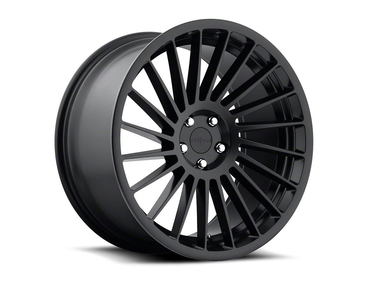 Rotiform Matte Black IND-T Wheel - Driver Side - 19x8.5 (15-17 All)