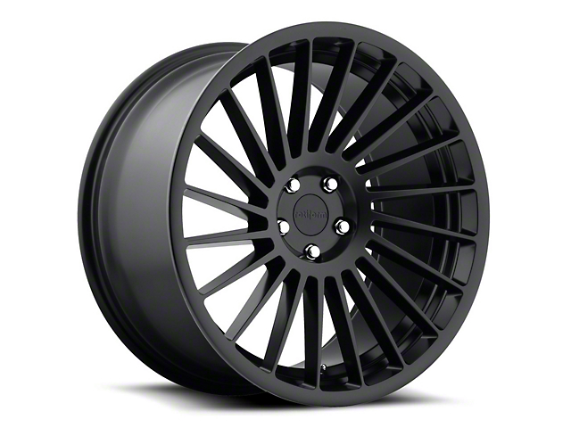 Rotiform Matte Black IND-T Wheel - Passenger Side - 19x8.5 (15-17 All)