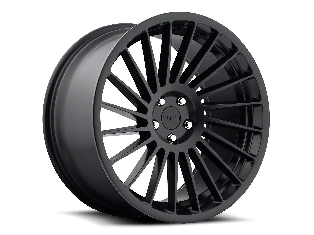 Rotiform Matte Black IND-T Wheel - Passenger Side - 19x8.5 (15-17 All)
