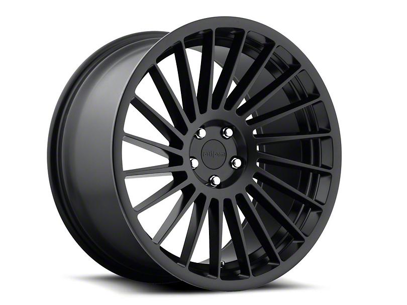 Rotiform Matte Black IND-T Wheel - Driver Side - 20x10.5 (05-14 All)