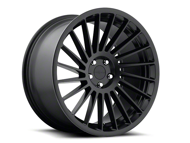 Rotiform Matte Black IND-T Wheel - Driver Side - 20x10.5 (05-14 All)