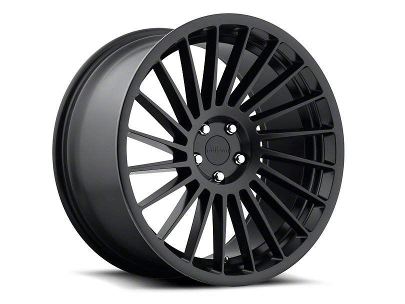 Rotiform CCV Matte Black Wheel - Passengers Side - 20x10 (05-14 All)
