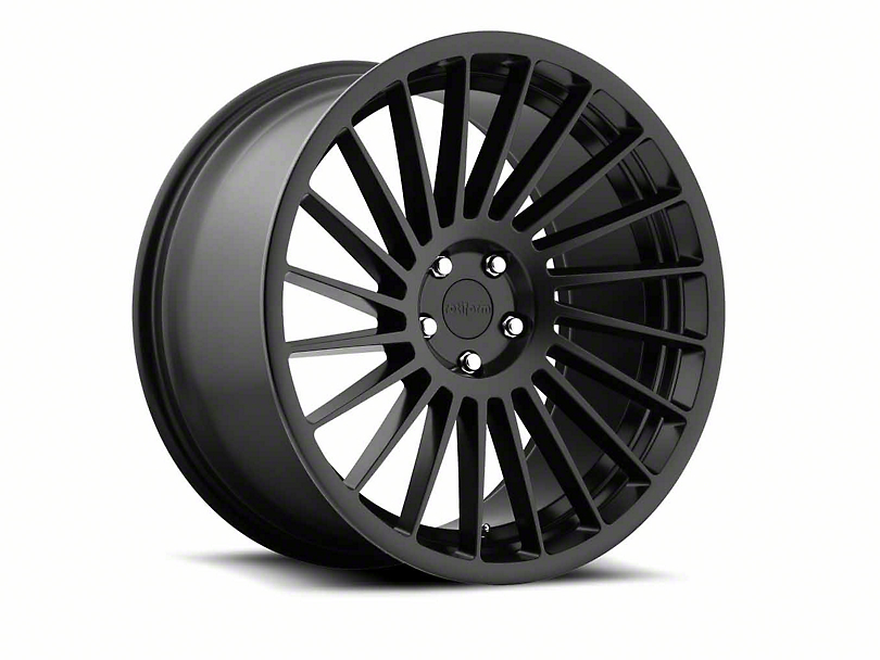 Rotiform IND-T Matte Black Wheel - Driver Side - 20x9 (15-18 All)