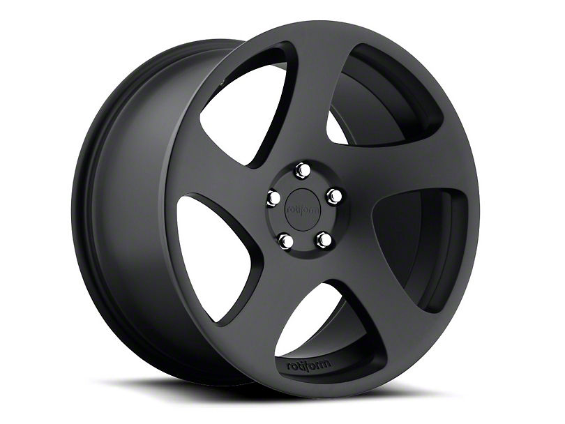 Rotiform Black Machined TMB Wheel - Driver Side - 19x10 (05-14 All)