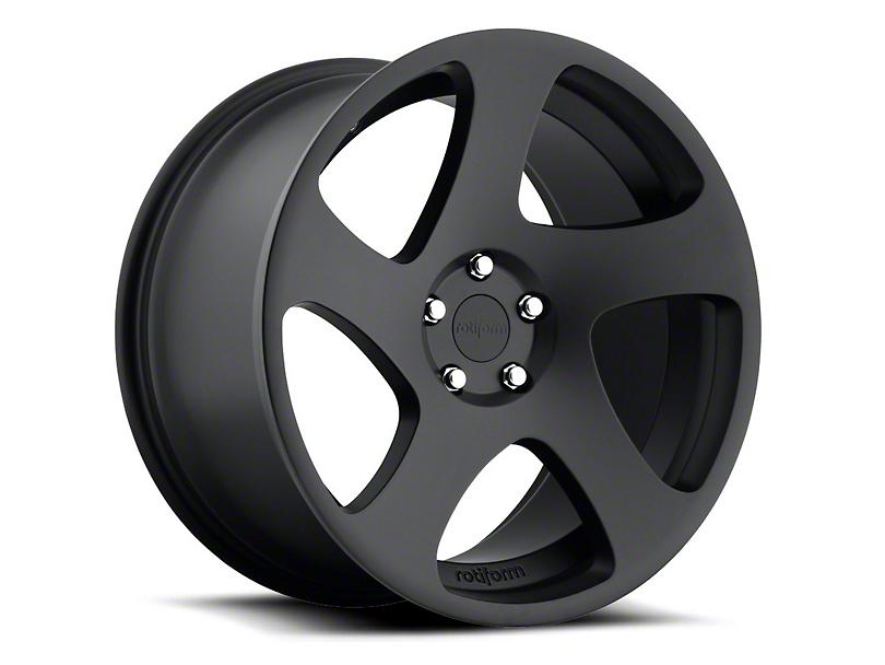 Rotiform Black Machined TMB Wheel - Driver Side - 19x10 (15-17 All)