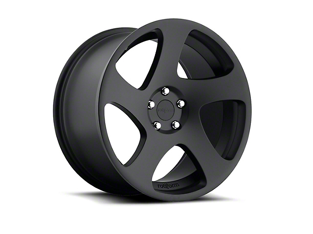 Rotiform TMB Black Machined Wheel - Driver Side - 19x10 (05-14 All)