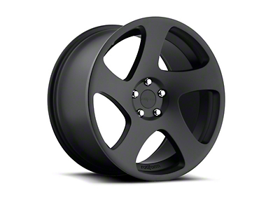 Rotiform Black Machined TMB Wheel - Passenger Side - 19x10 (05-14 All)