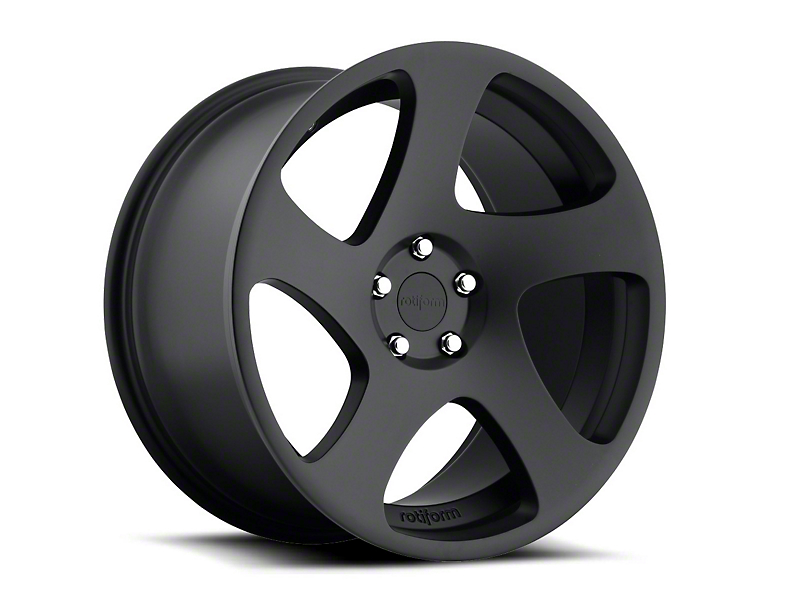 Rotiform Black Machined TMB Wheel - Passenger Side - 19x10 (15-17 All)