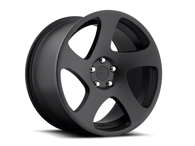 Rotiform Matte Black TMB Wheel - Driver Side - 19x8.5 (05-14 All)