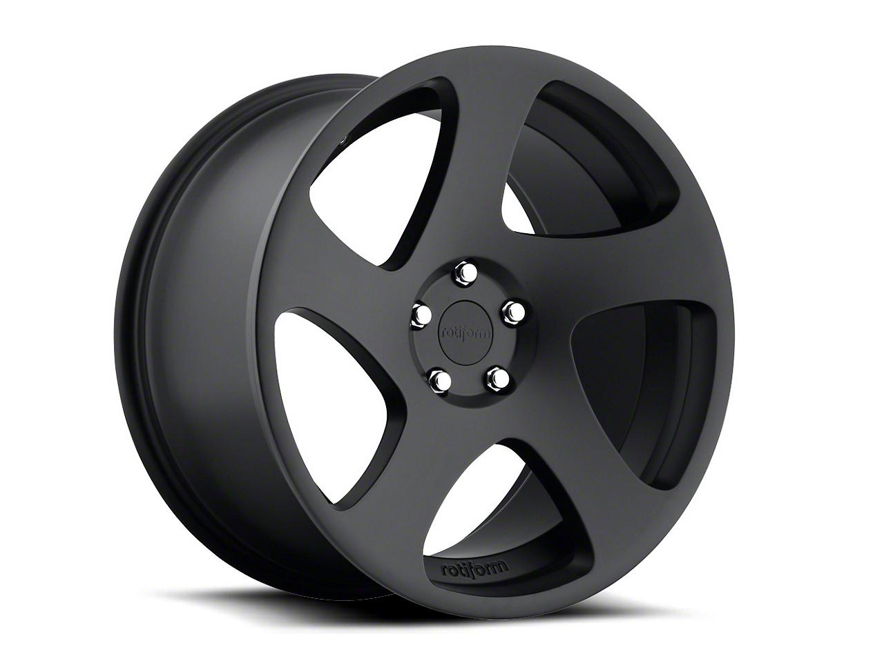 Rotiform IND-T Matte Black Wheel - Passenger Side - 20x9 (05-14 All)