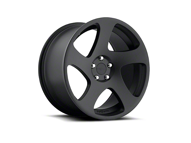 Rotiform TMB Matte Black Wheel - Driver Side - 19x8.5 (15-17 All)