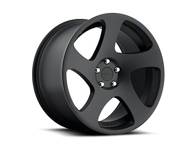 Rotiform Matte Black TMB Wheel - Passenger Side - 19x8.5 (05-14 All)