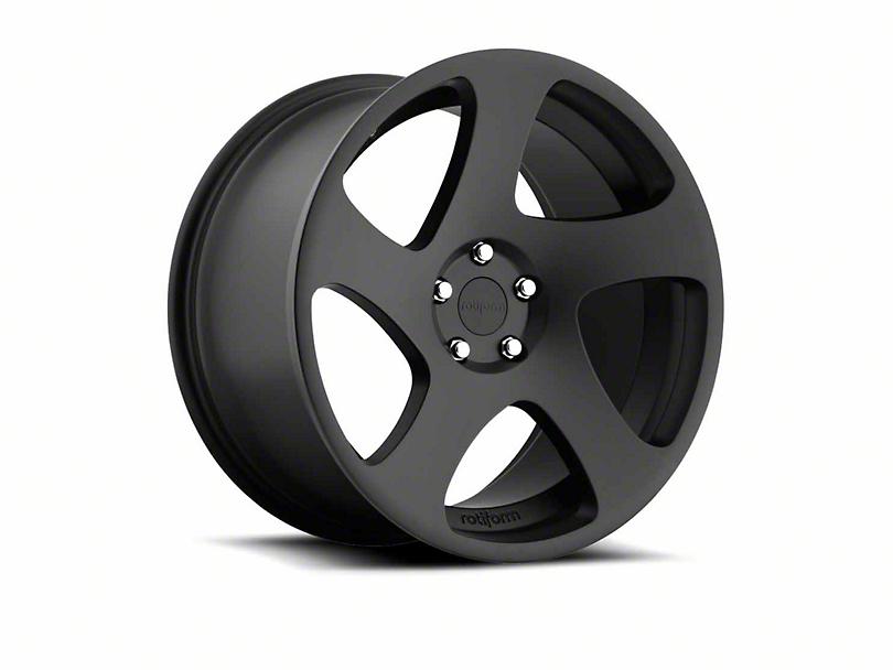 Rotiform TMB Matte Black Wheel - Passenger Side - 19x8.5 (15-18 GT, EcoBoost, V6)