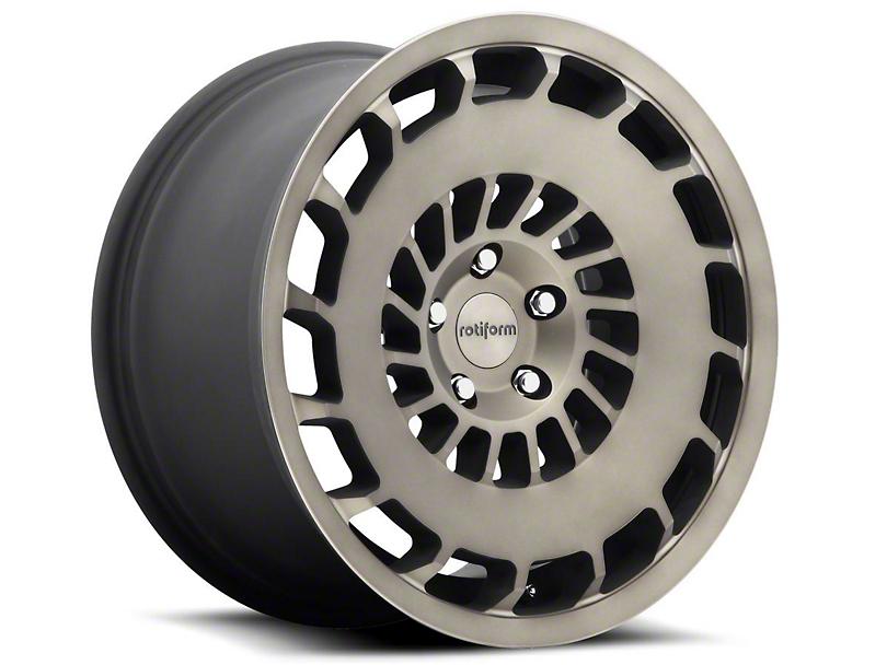 Rotiform Black Machined CCV Wheel - Driver Side - 20x10 (05-14 All)