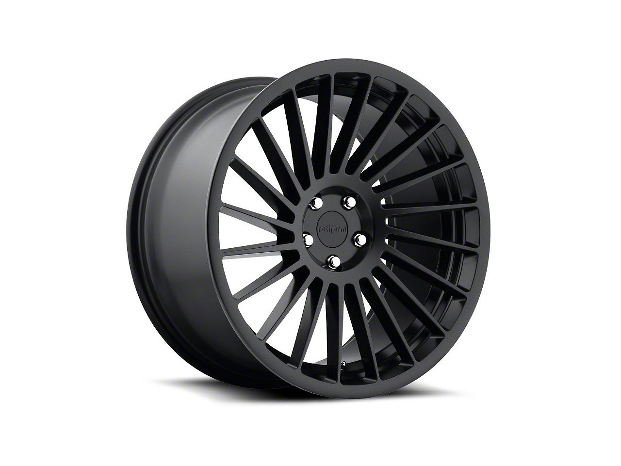 Rotiform CCV Black Machined Wheel - Drivers Side - 20x10 (15-17 All)