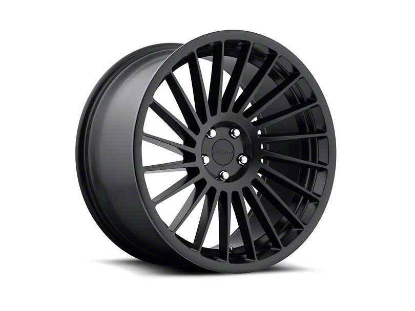 Rotiform CCV Black Machined Wheel - Driver Side - 20x8.5 (15-18 GT, EcoBoost, V6)