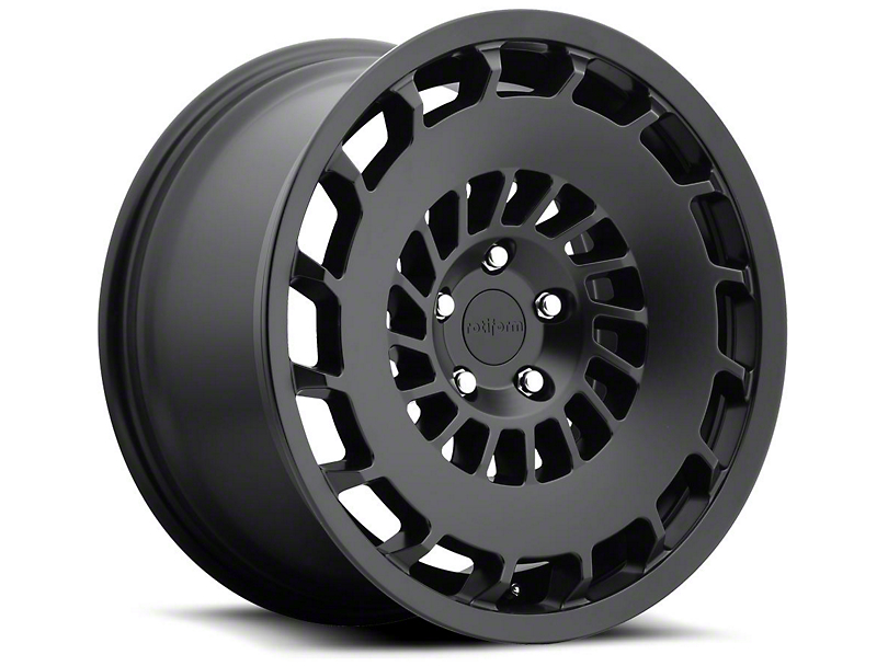 Rotiform Matte Black CCV Wheel - Passengers Side - 20x10 (15-17 All)