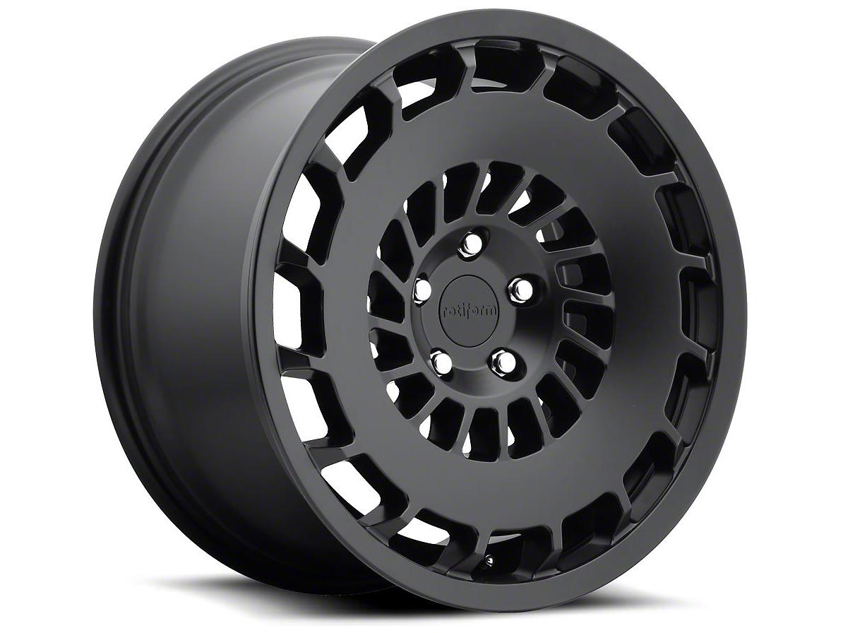 Rotiform Matte Black CCV Wheel - Passengers Side - 20x10 (15-17 All)