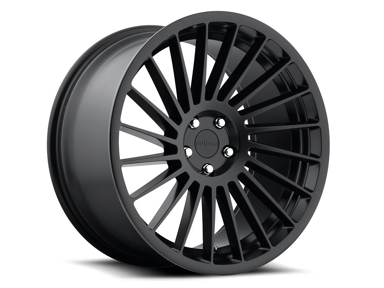 Rotiform CCV Matte Black Wheel - Drivers Side - 20x10 (05-14 All)