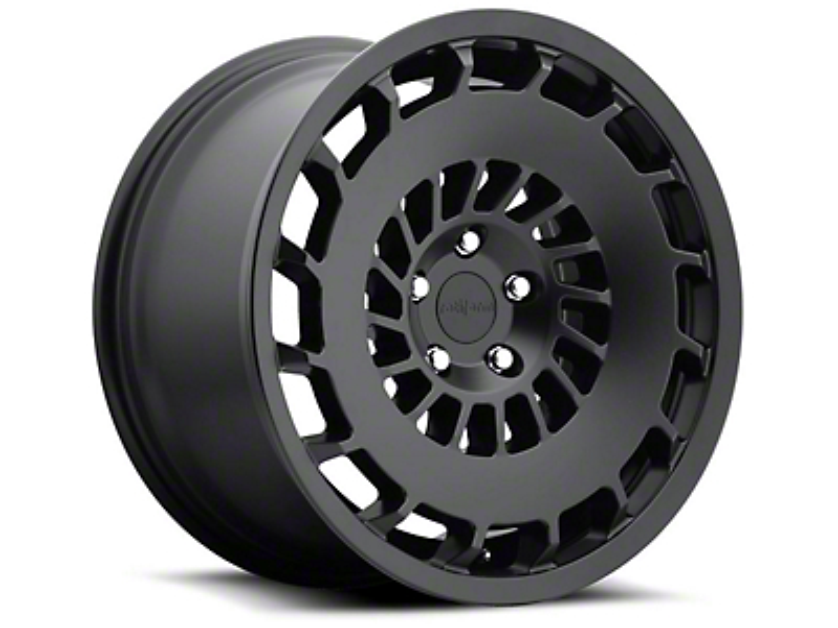 Rotiform Matte Black CCV Wheel - Passenger Side - 20x8.5 (15-17 All)