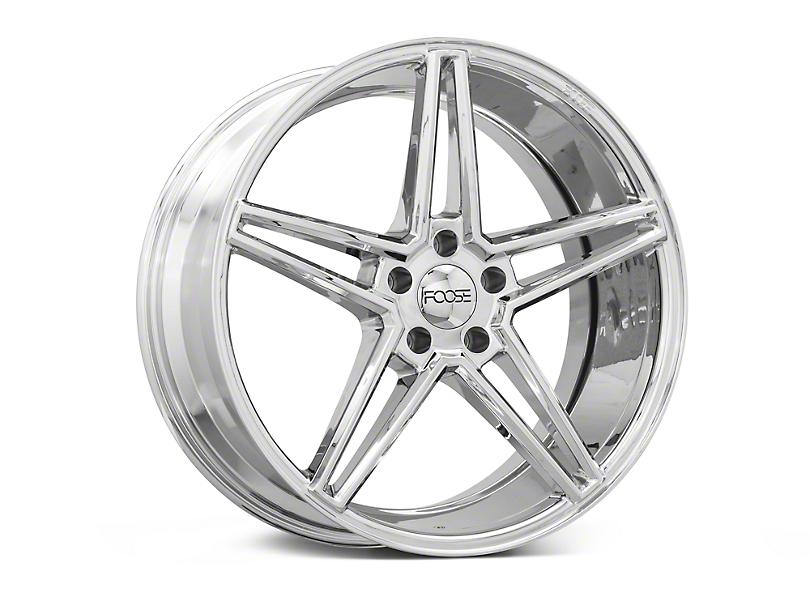 Foose Voss Chrome Wheel - 20x9 (15-17 All)