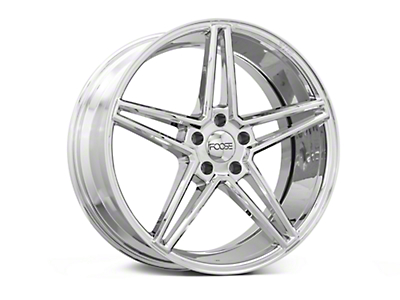 Foose Voss Chrome Wheel - 20x9 (15-18 GT, EcoBoost, V6)