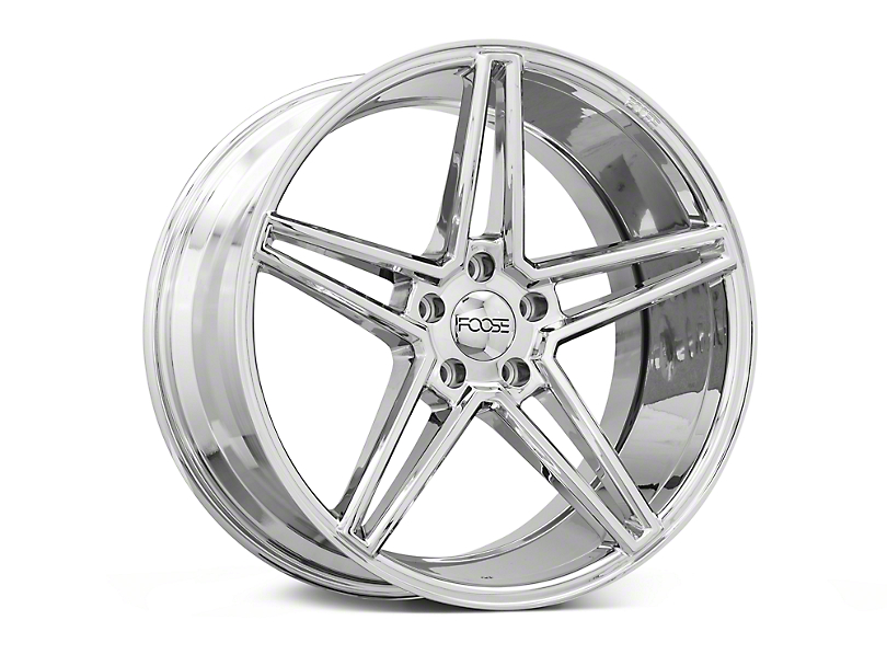 Foose Voss Chrome Wheel - 20x10 (15-18 GT, EcoBoost, V6)