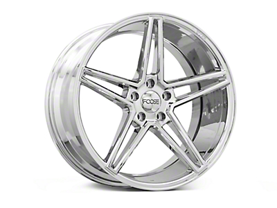 Foose Voss Chrome Wheel - 20x10 (15-18 GT, EcoBoost, V6)