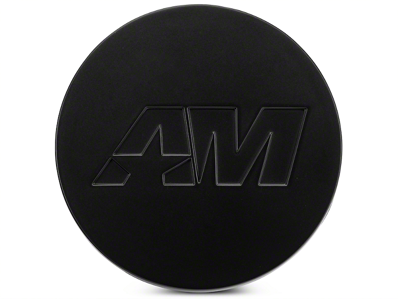 Matte Black AmericanMuscle Center Cap (05-18 All)