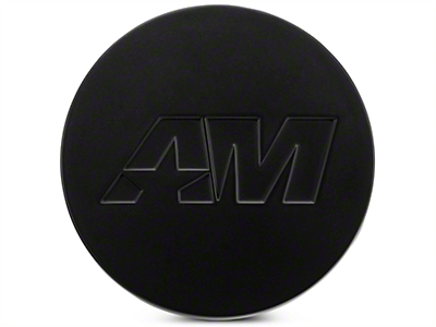 Matte Black AmericanMuscle Center Cap (05-19 All)