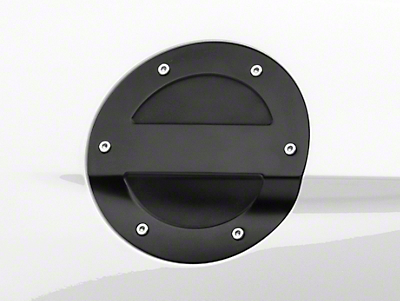 MMD Black Billet Aluminum Fuel Door (15-17 All)