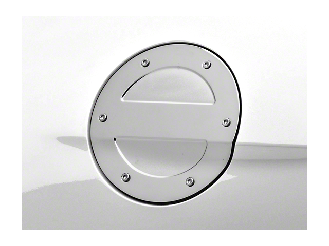 MMD Chrome Billet Aluminum Fuel Door (15-18 All)