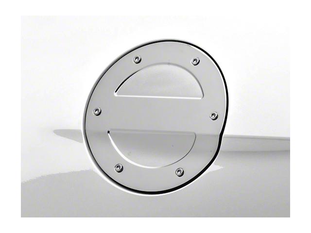MMD Chrome Billet Aluminum Fuel Door (15-19 All)
