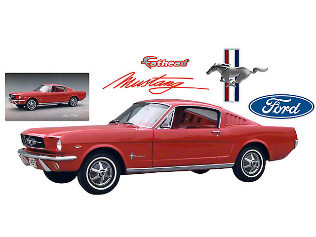 Fathead 1965 Ford Mustang Wall Decals