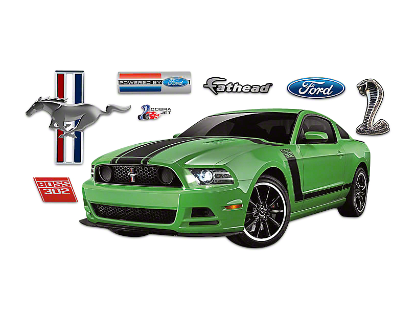Fathead Ford Muscle Mustang Boss Wall Decals