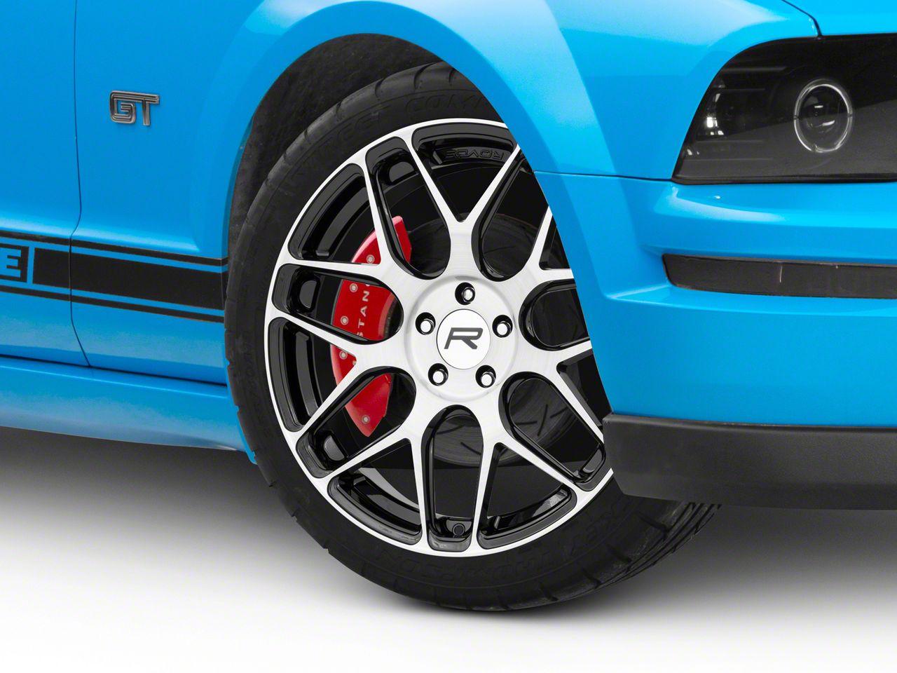 Rovos Gloss Black Machined Pretoria Wheel - 20x8.5 (05-14 All)