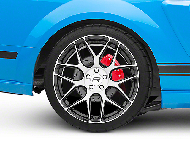Rovos Pretoria Gloss Black Machined Wheel - 20x10 - Rear Only (05-09 All)