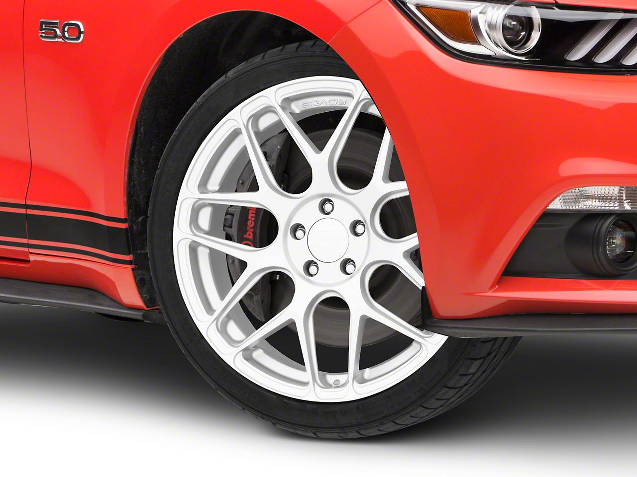 Rovos Pretoria Silver Wheel - 20x8.5 (15-18 GT, EcoBoost, V6)