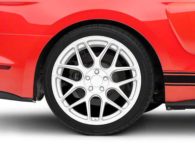 Rovos Pretoria Silver Wheel; Rear Only; 20x10 (15-20 GT, EcoBoost, V6)