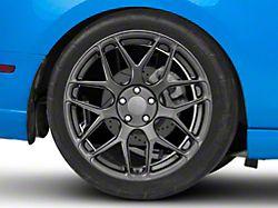 Rovos Pretoria Gunmetal Wheel; Rear Only; 20x10 (10-14 All)